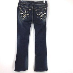 Rock Revival Elaina Boot Cut Blue Jeans 25